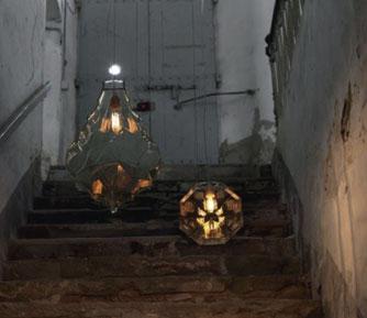Lichthaus Ammon Hängeleuchten Treppenhaus Ambiente